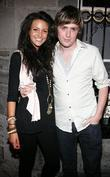 Michelle Keegan and George Mcmahon