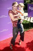 Julie Bowen and son Oliver McLanahan Phillips