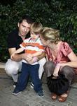 Julie Bowen, son Oliver McLanahan Phillips and husband Scott Phillips