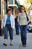 Marcia Cross and her mother