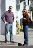 Marcia Cross and husband Tom Mahoney make a stop off in Hollywood on their day out together