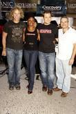 David Bryan, Montego Glover, Chad Kimball and Joe...