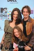 Asia Argento with her daughter Anna Lou Castoldi...