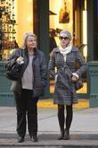 Naomi Watts, Her Mother, Miv Watts and Out Walking In Soho