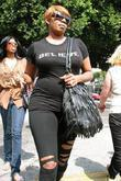 'the Real Housewives Of Atlanta' Star Nene Leakes Shopping At Intermix After Shopping At Rock