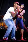 Pharrell Williams and Rhea