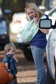 Nicole Sullivan takes her two sons Beckett Edward Packham