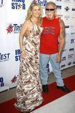 Kristy Swanson and Paul Teutul