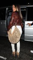 Ciara Leaving Nobu Restaurant