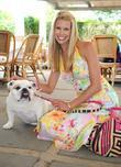 Beth Ostrosky and her bulldog Bianca
