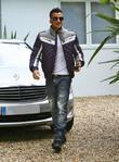 Peter Andre leaves his house to travel to...