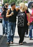 Peter Andre and his manager Claire Powell