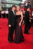 Hope Davis & Guest 61st Primetime Emmy Awards...