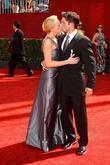 Adrienne Frantz, Justin Guarini 61st Primetime Emmy Awards...