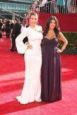 Kim Kardashian and Kourtney Kardashian 61st Primetime Emmy...