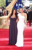 Kourtney Kardashian and Kim Kardashian 61st Primetime Emmy...