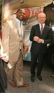 AJ Calloway and Tim Gunn of 'Project Runway'...