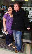 James Corden and Ruth Jones