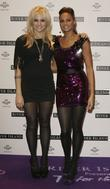Pixie Lott and Alesha Dixon