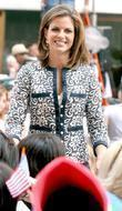 Today show anchor Natalie Morales and Rockefeller Plaza