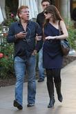 Ross King and His Wife Shopping In Hollywood