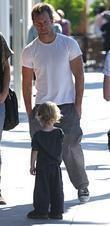 Scott Caan Leaving Nate'n Al In Beverly Hills With Friend
