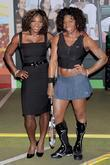 Serena Williams, Madame Tussauds, Times Square