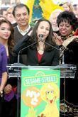 Julianne Cho and Sesame Street