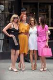 Kim Cattrall, Cynthia Nixon, Sarah Jessica Parker and Sex And The City
