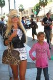 Shauna Sand and Her Daughters