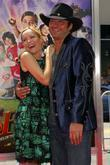 Robert Rodriguez and Leslie Mann