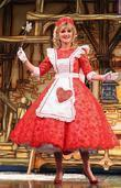 Anthea turner as Fairy Godmother Snow White And...