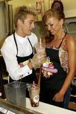 Aaron Carter and Karina Smirnoff
