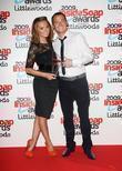 Kara Tointon, winner of best dressed soap star and Joe Swash