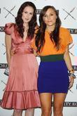 Rumer Willis and Briana Evigan at a photocall...