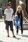Gavin Rossdale, Gwen Stefani and their son Zuma...
