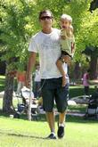 Gavin Rossdale and his son Kingston Rossdale