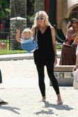 Gwen Stefani and her son Zuma Rossdale spend...