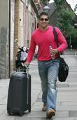 Rav Wilding arrives at a dance studio to...