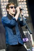 Johnny Borrell and T in the Park