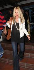 Rachel Zoe Leaving Taverna Tony Greek Restaurant In Malibu Where She Dined With Friends