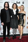 Keanu Reeves, Rebecca Miller and Robin Wright Penn