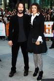 Keanu Reeves and Rebecca Miller