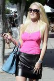 Heidi Montag outside the American Rag store in...