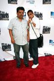 Luis Guzman with his son