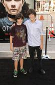 Alex and Vincent Martella arrives at the Los...