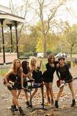 Una Healy, Vanessa White, Mollie King, Rochelle Wiseman and Frankie Sandford