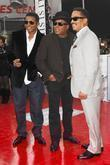 Jackie Jackson, Tito Jackson and Marlon Jackson