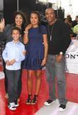 Sugar Ray Leonard and family
