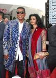 Jermaine Jackson and His Wife Halima Rashid